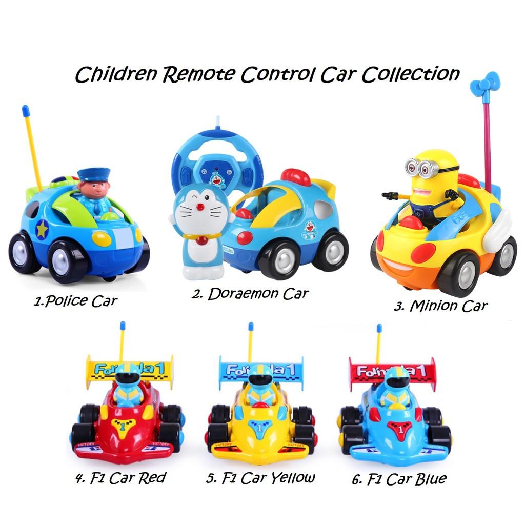 Dilwe RC Toy Car Wireless Cartoon Toy RC Car Remote Control