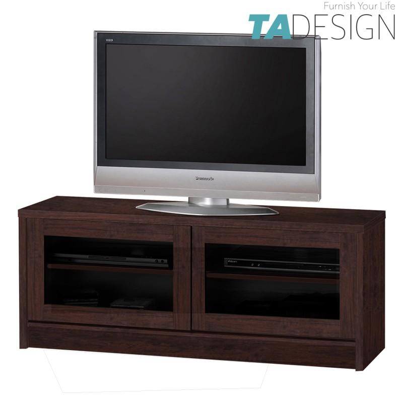 XENA 4 feet glass door tv cabinet/ kabinet tv/ rak tv/ rak tv 4ft