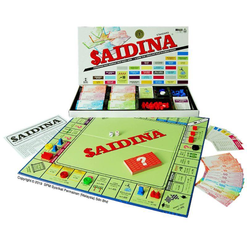 saidina game set SPM Games SPM 21 Saidina Traveller Playday Original monopoly game