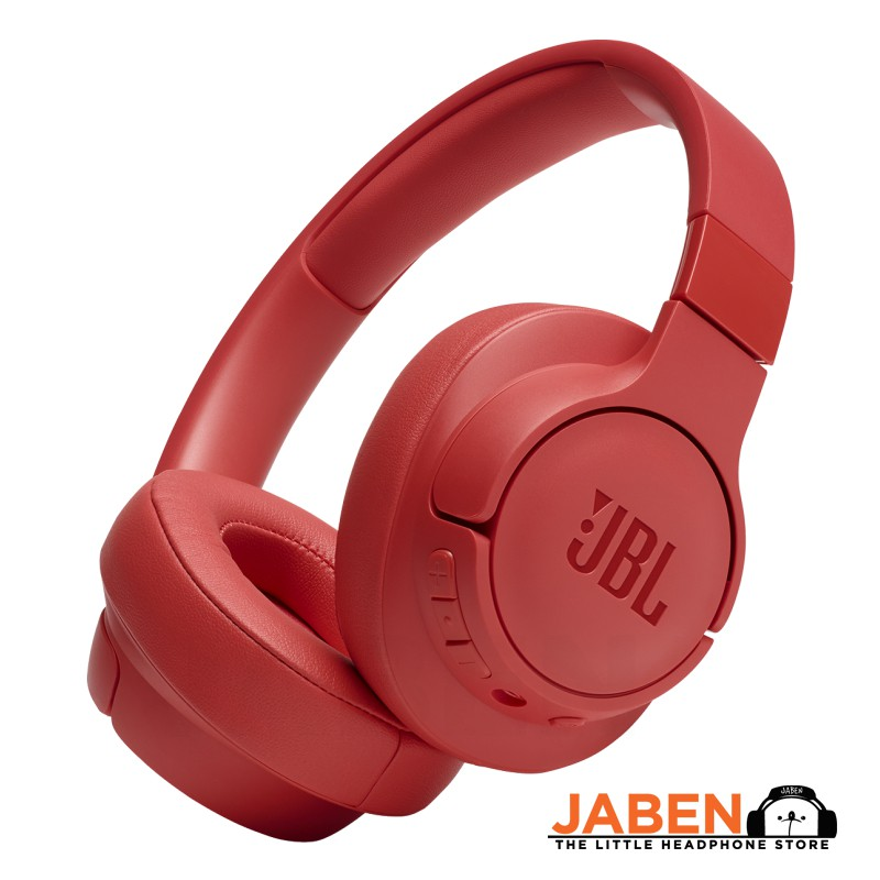 JBL Tune 750BTNC Active Noise Cancelling Wired Mode ANC 15 Hours Bluetooth Closed Back Over-Ear Headphones [Jaben]