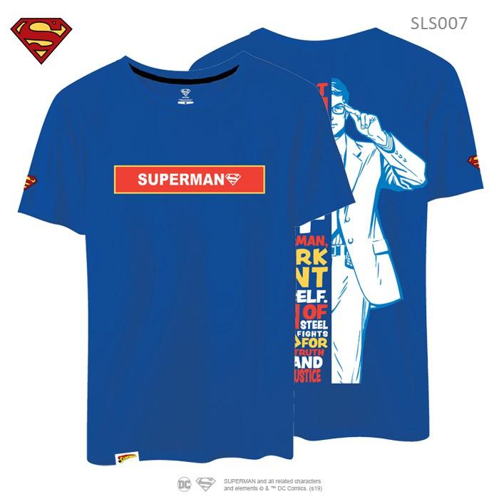 Superman Tshirt Stretchable Tshirt Original Tee Graphic Tee 100% Cotton Tshirt SLS007