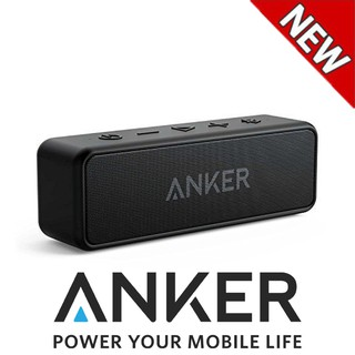 Anker Soundcore 2 Portable Bluetooth Speaker with Superior Stereo