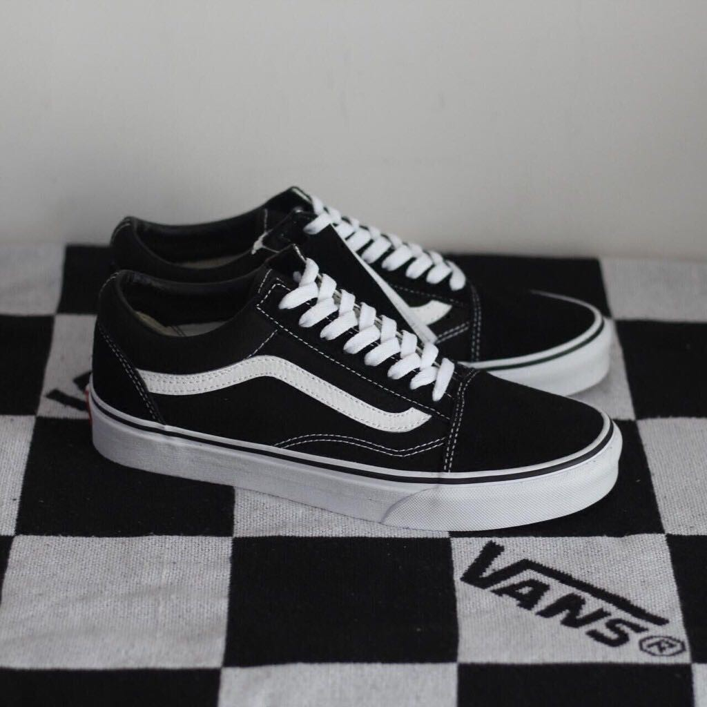 finest selection 5986b 98ef8 Real shot of genuine Vans Old Skool SK6 white canvas shoes casual shoes GD  Quan Zhilong men and women size   Shopee Malaysia