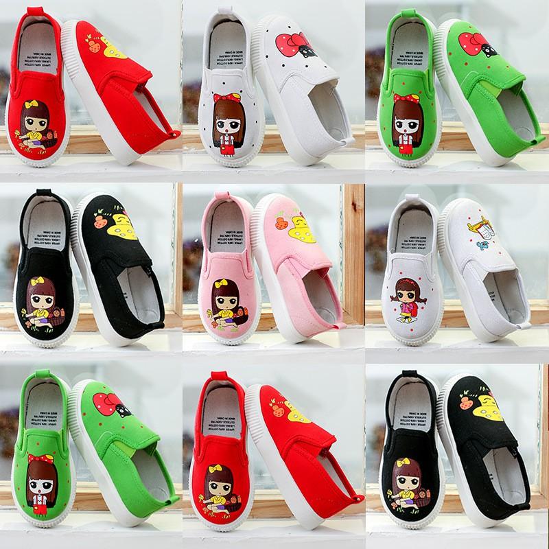 korean girls canvas shoes spring new vans boys shoes