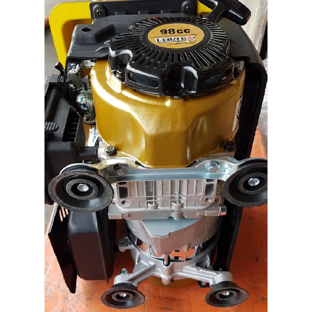 4 stroke single phase electric engine petrol gas motor generator generate power supply starter adaptor plug light led