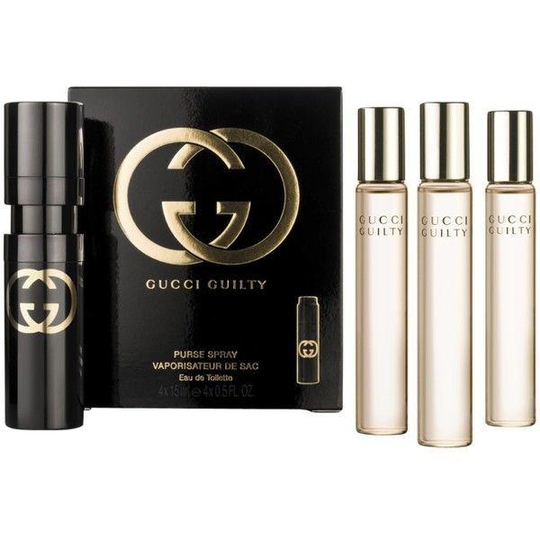 Gucci Guilty Purse Spray Eau De Toilette 4 Refills 4x 15ml For Women