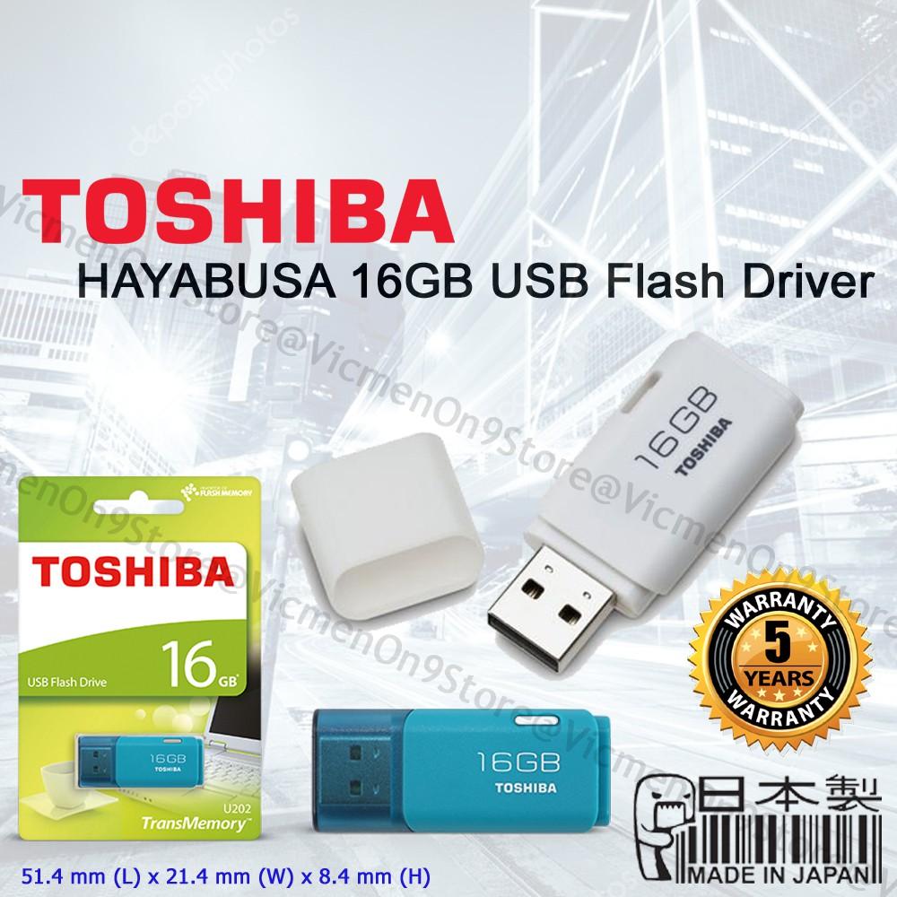 Toshiba Hayabusa 8gb 16gb 32gb 64gb Usb 20 Flash Drive Disk 32 Gb Original Pendrive Shopee Malaysia