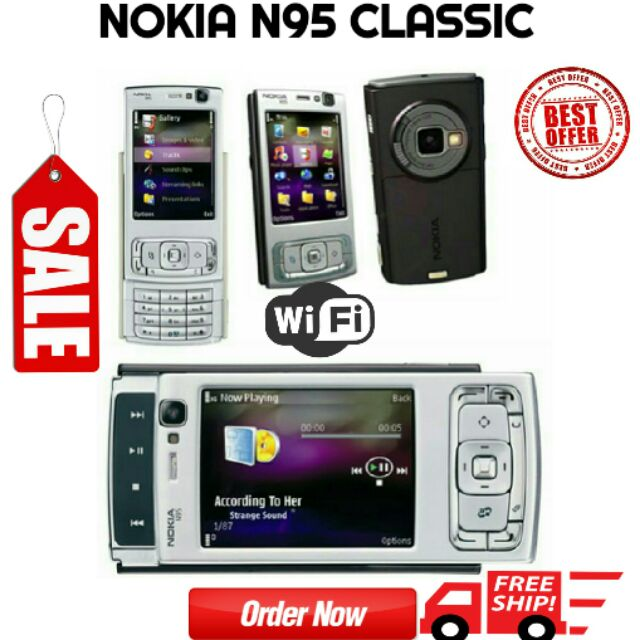 NOKIA N95( WIFI ) IMPORT SET NEW