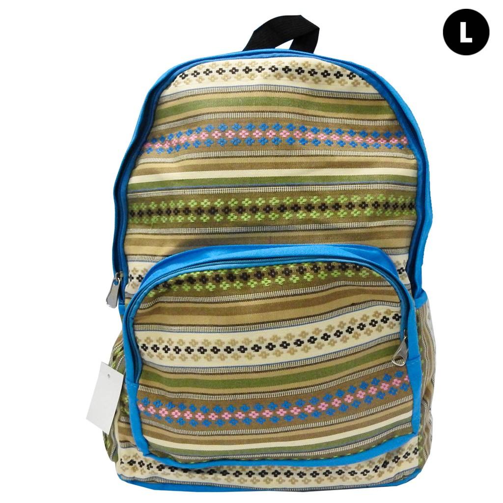 Modern Ladies  Haversack Bag Light Blue (L)