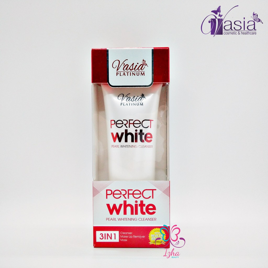 [V'ASIA] Perfect White Pearl Whitening Cleanser - 100g