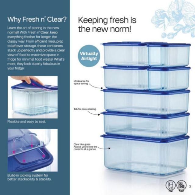 Tupperware Fresh N Clear Set Clear Mate ClearMate
