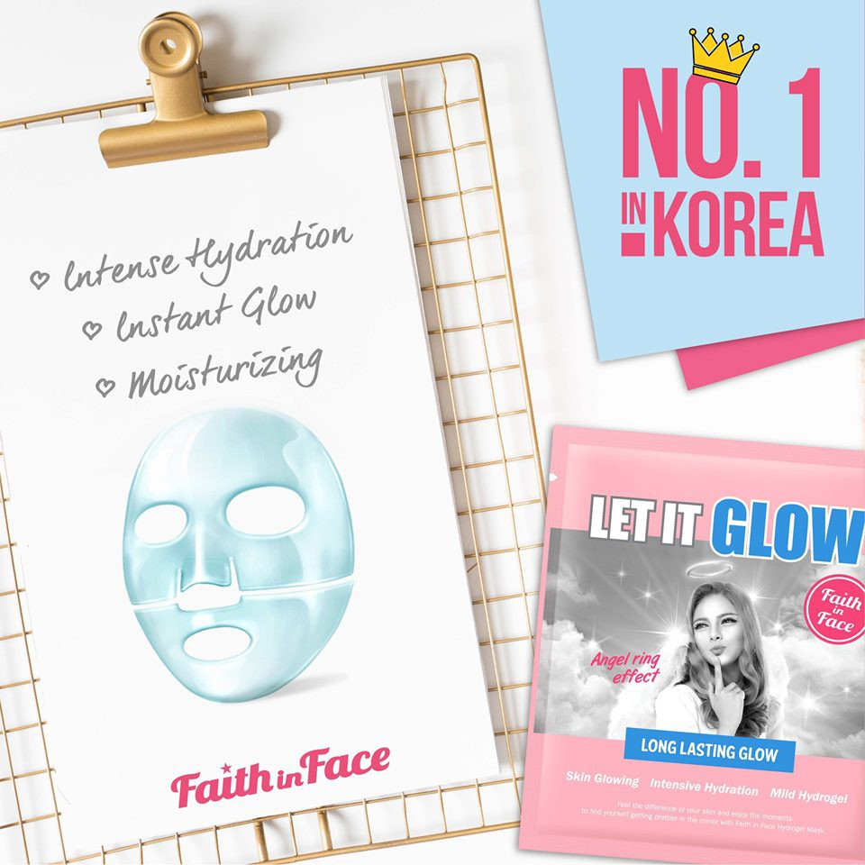 Image result for Faith In Face Let It Glow