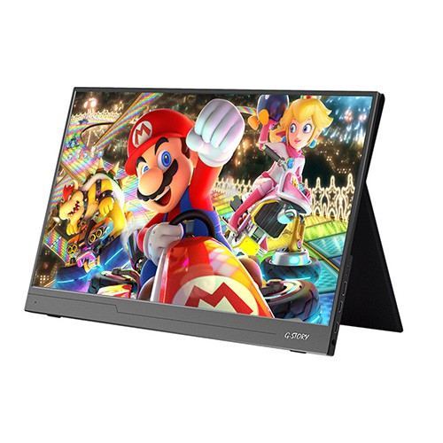 (Best Choice) G-STORY 15 6 Inch Screen 4K LED LCD Full HD 1080P Portable  Gaming Monitor PS4 Xbox ONE Switch