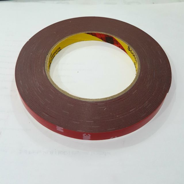 3M™ 30mm x 3m Double Sided Acrylic Tape Foam Adhesive Automotive Car Auto 0.8mm