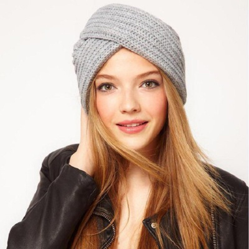 44826f31e57 New Winter Warm Ladies Soft Beanie Tail Hat Ponytail Knitted Crochet Wool  Cap