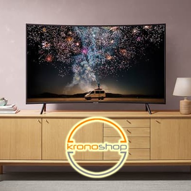 (Free HDMI Cable) Samsung 49 Inch Curved Smart 4K UHD LED TV UA49RU7300 UA49RU7300KXXM