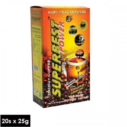 Kopi SuperBest Power Energy Coffee (25gx20sachets)