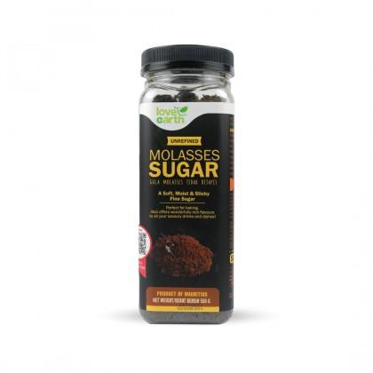 Love Earth Unrefined Molasses Sugar 550g 乐儿糖蜜 550公克 (罐装)
