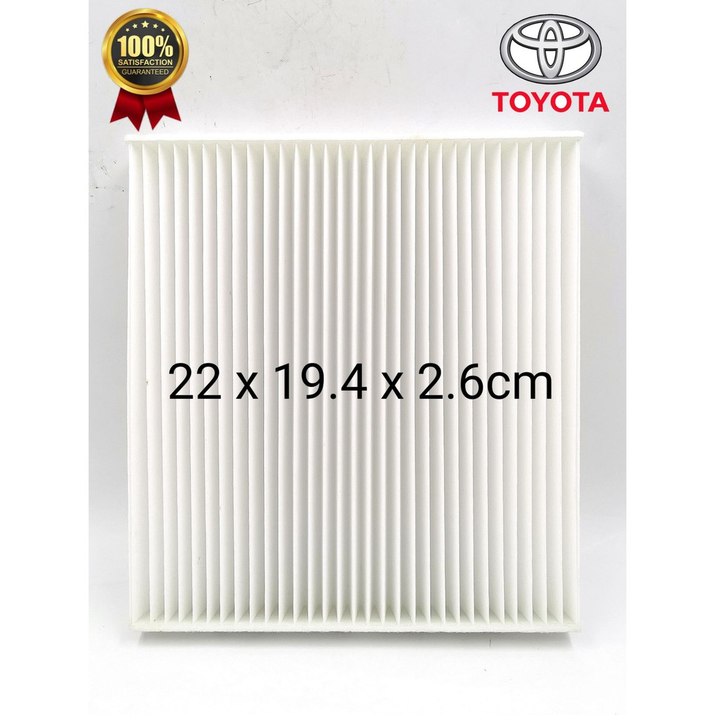 CAFNDTMXLEX-TOYOTA ACR50 / VELLFIRE / ALPHARD / MARK-X / IS 250 CABIN AIR FILTER ( LEXUS )
