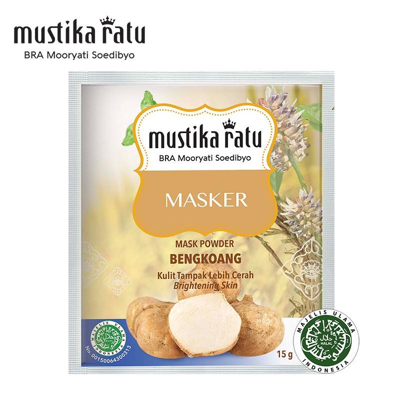 Mustika Ratu Masker Bengkoang For Brighten Skin (15g)