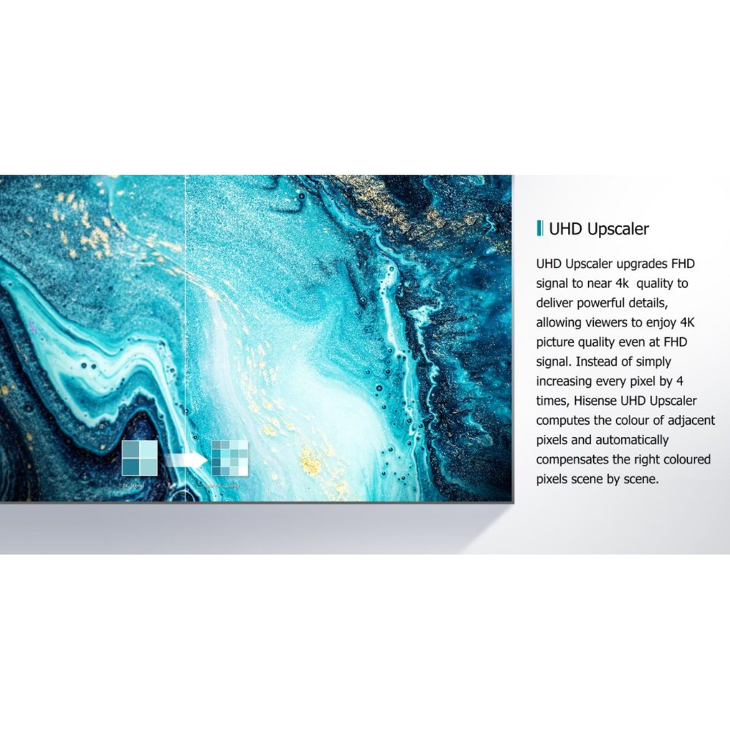 """Hisense 55A7100F 55"""" 4K Ultra HD Smart LED TV"""