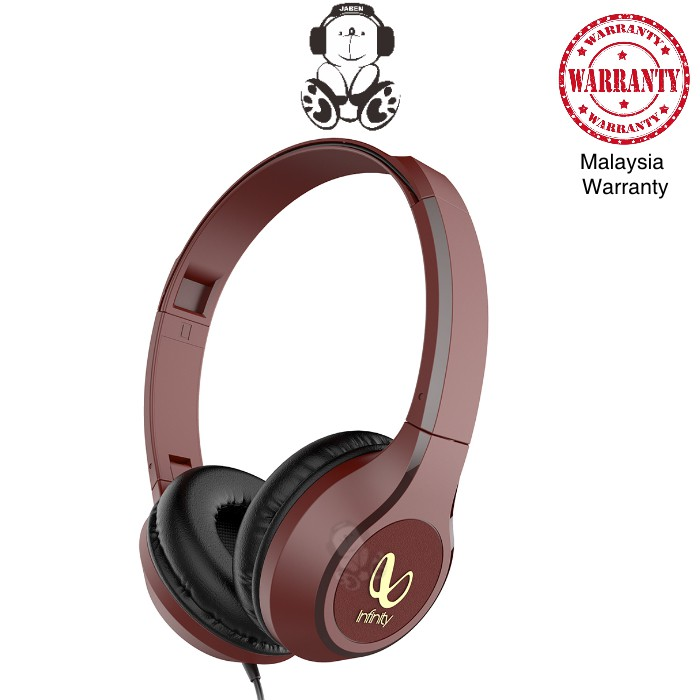 Infinity WYND 700 by HARMAN Colorful Wired Hands-Free Deep Bass Closed Back On-Ear Headphones [Jaben]