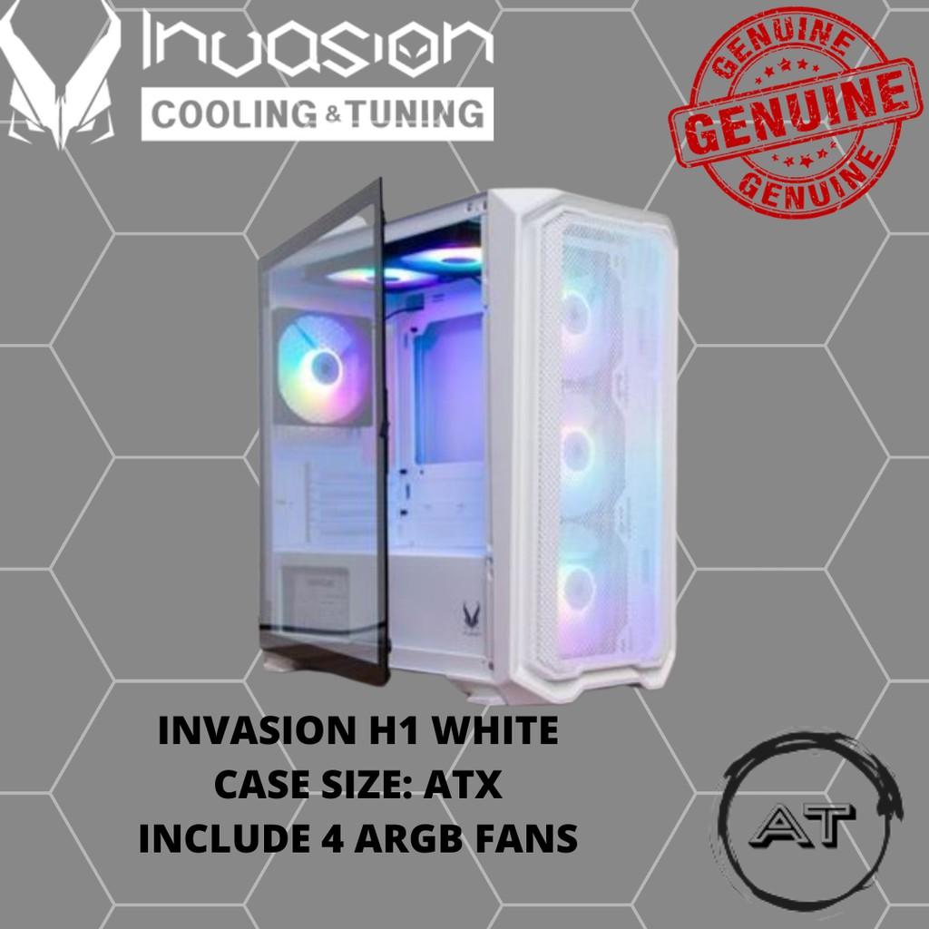 INVASION H1 WHITE (4 ARGB FANS)