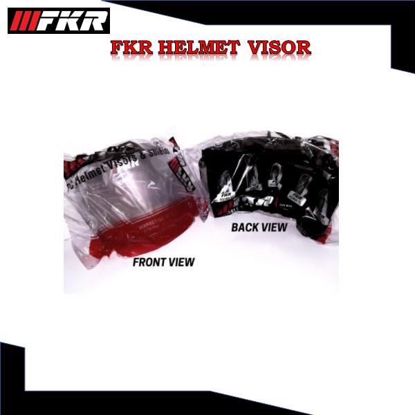 FKR HELMET VISOR 100% ORIGINAL Visor Helmet FKR MS88