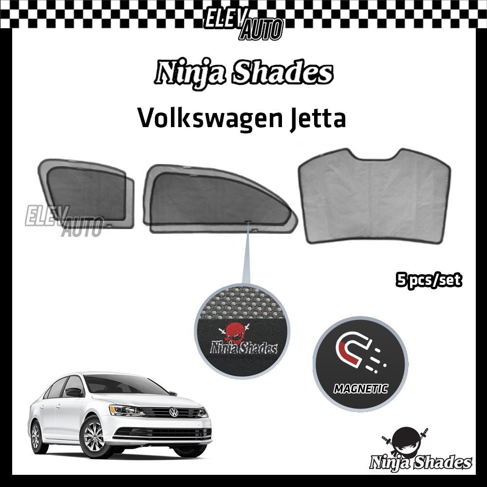 Volkswagen Jetta Ninja Shades OEM Magnetic Sunshade