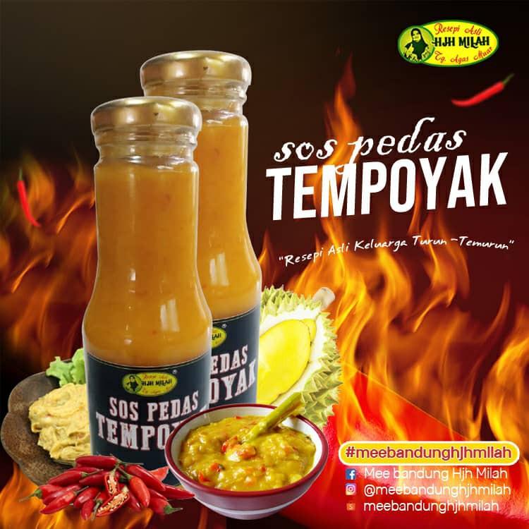 Sos Pedas Tempoyak Nenas Hjh Milah