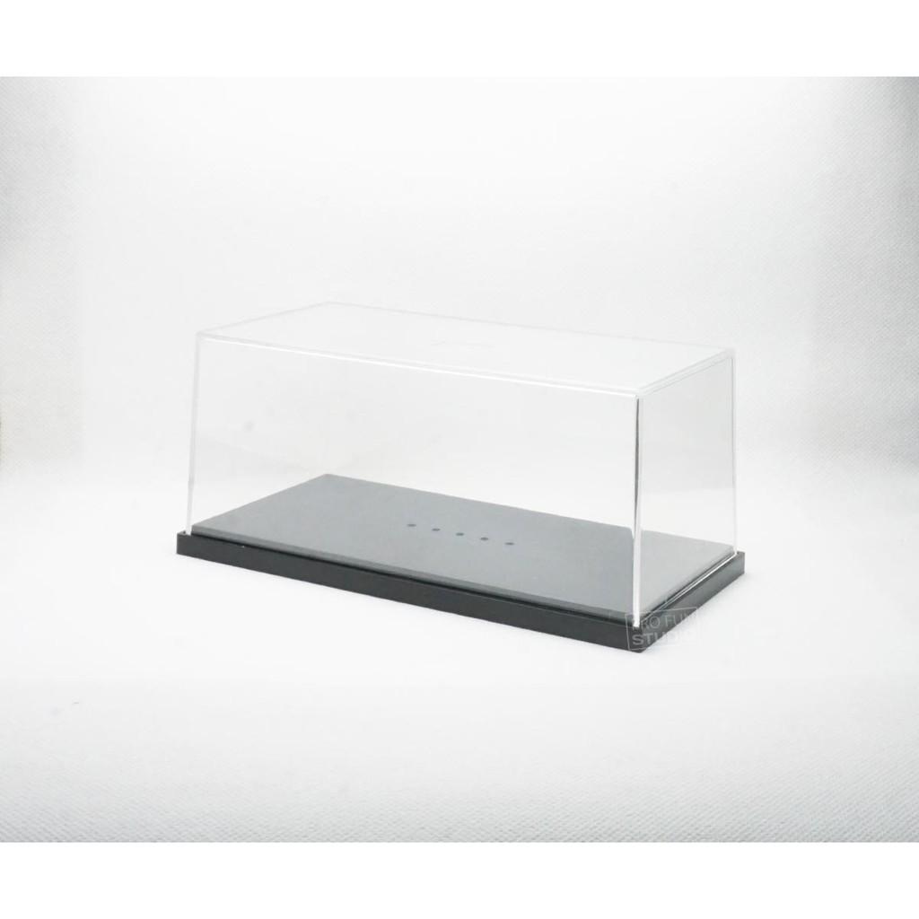 1:64 Display Box Model Toy 20PCS Plastic Storage Clear Case 30*40*82mm