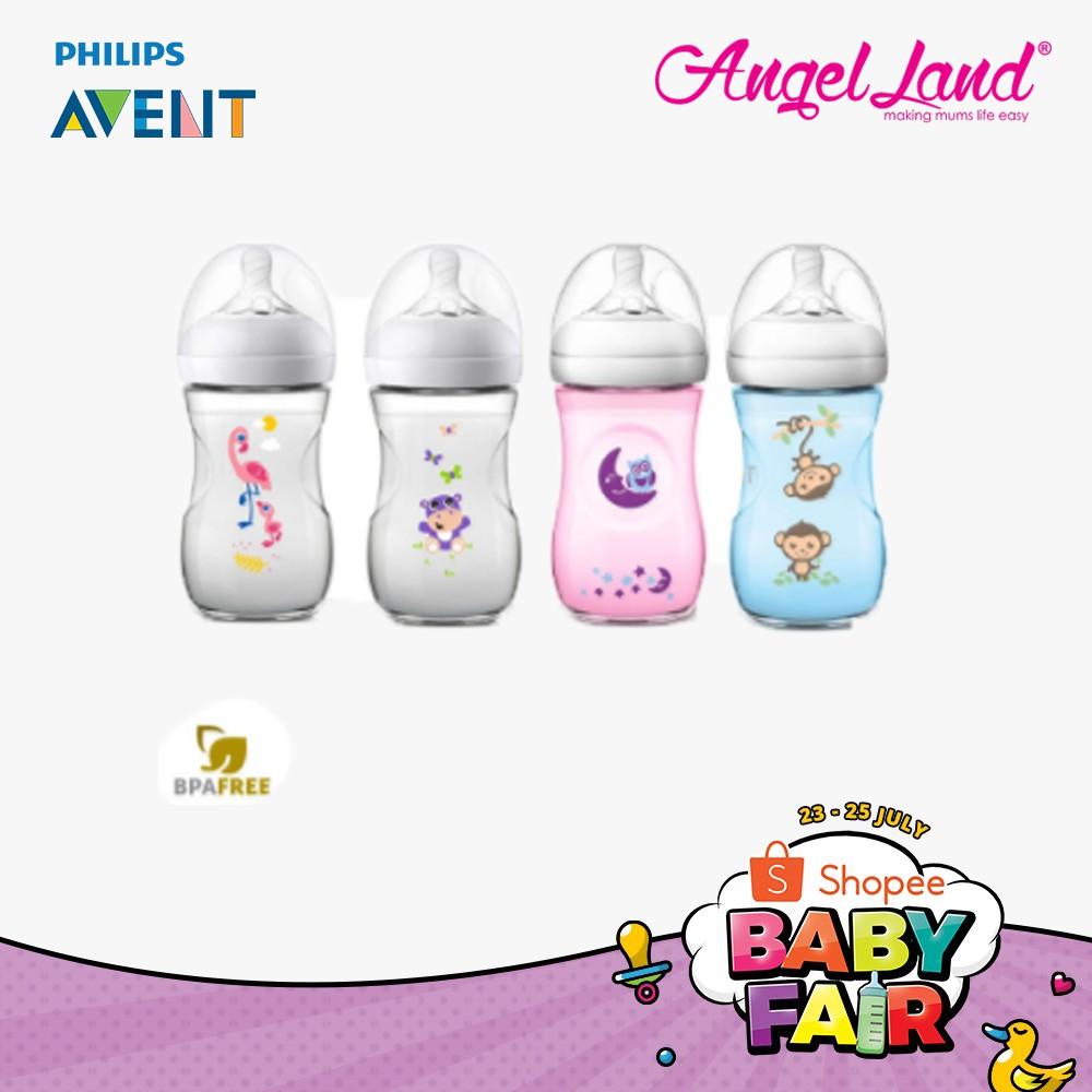 Daftar Harga Philips Avent Natural 20 Baby Bottle 125 Ml Twin Pack 125ml Isi 2 Elephant Decorated Girl 260ml 9oz Scf690