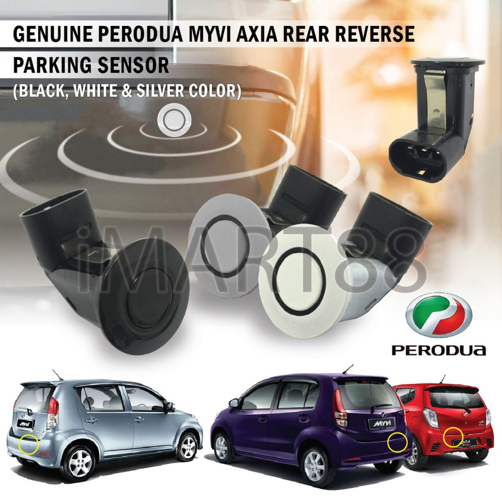 Reverse Parking Sensor Perodua Daihatsu Myvi Viva Alza Axia PDC Original OEM