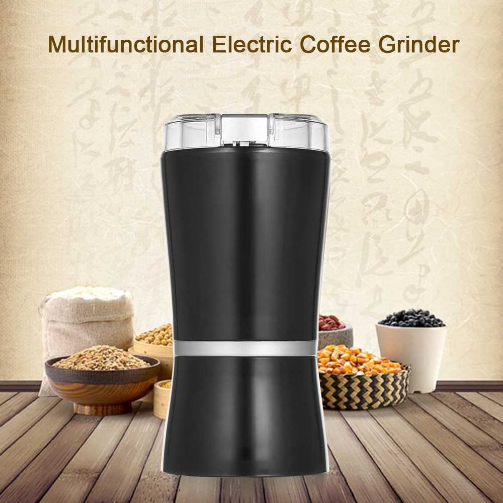 Electric Coffee Grinder Mini Kitchen Salt Pepper Grinder Powerful Beans Spices Herbs Nut Seed Coffee Bean Grind Mill (B