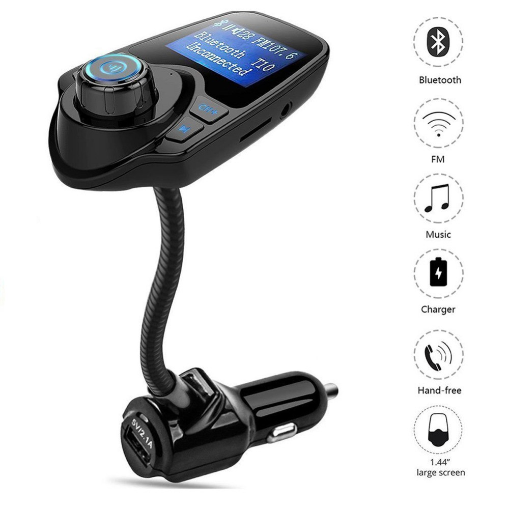 Bt20 Upgarde Bluetooth Handsfree Calling Fm Transmitter Music Player Car Dual Usb Charger Mp3 Wma Audio Hands Free Call 5v 34a Support Tf Card Pl Shopee Malaysia