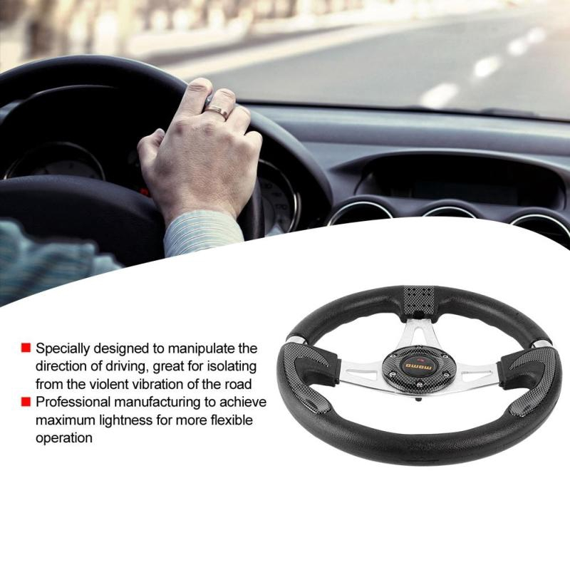 PVC Car Sport Racing Drift Steering Wheel Blue 13in 320mm Universal PU