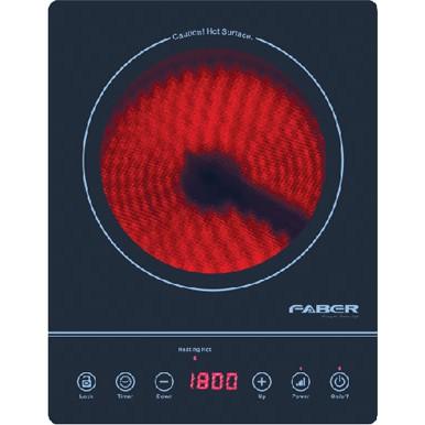 1800W Faber Ceramic Cooker FCC FORNELLO 2000
