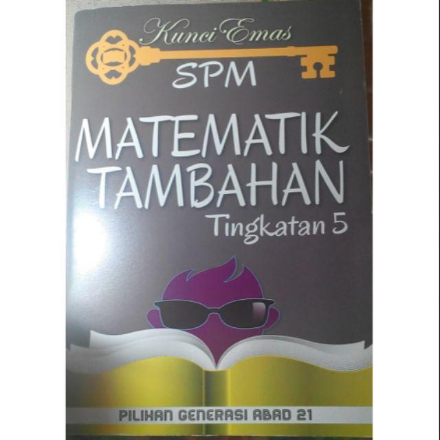 Buku Rujukan Matematik Tambahan Tingkatan 5 Shopee Malaysia