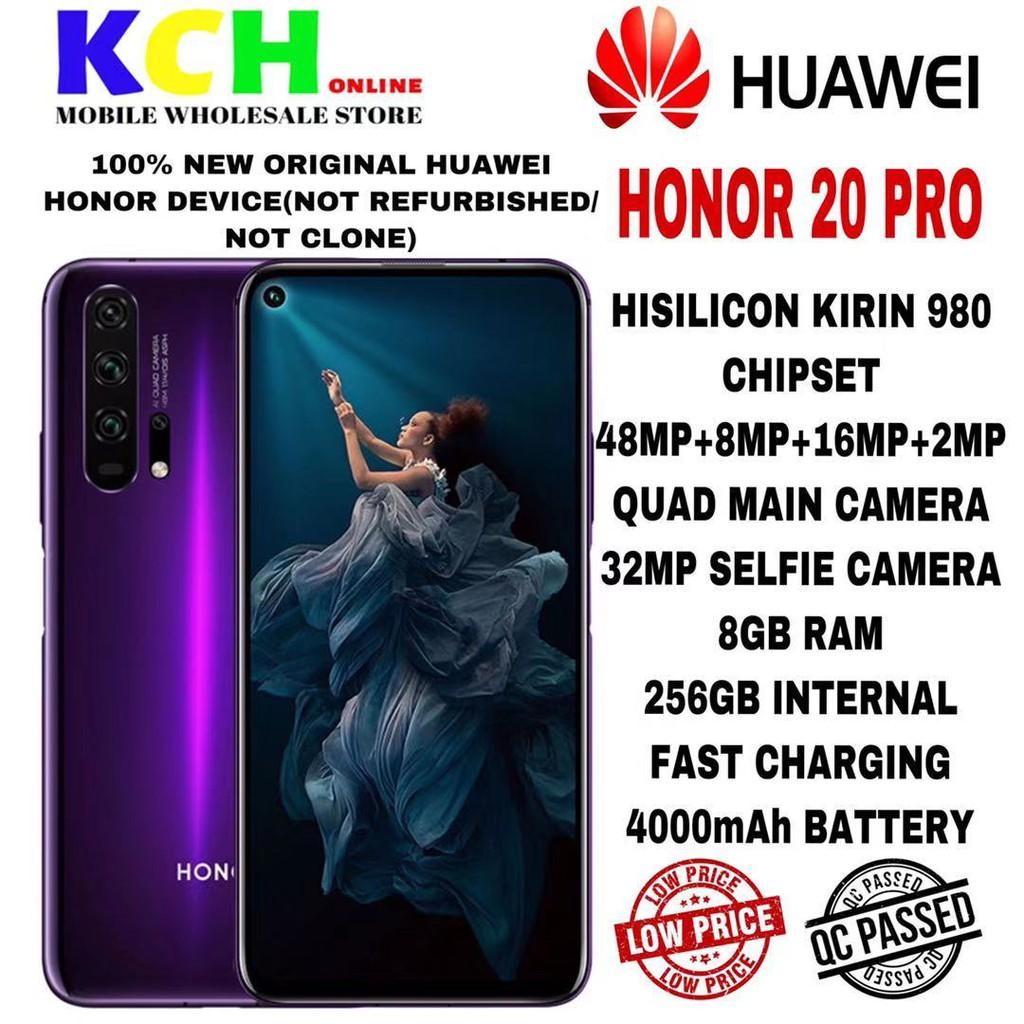 [NEW] HONOR 20 PRO [8GB RAM + 256GB ROM] [1 YEAR HONOR MALAYSIA WARRANTY]