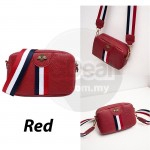 GDeal Korean Women Fashion Pure Colour PU Leather Cross Body Bag Dinner Party Shopping Sling Shoulder Bag (RYL-292)
