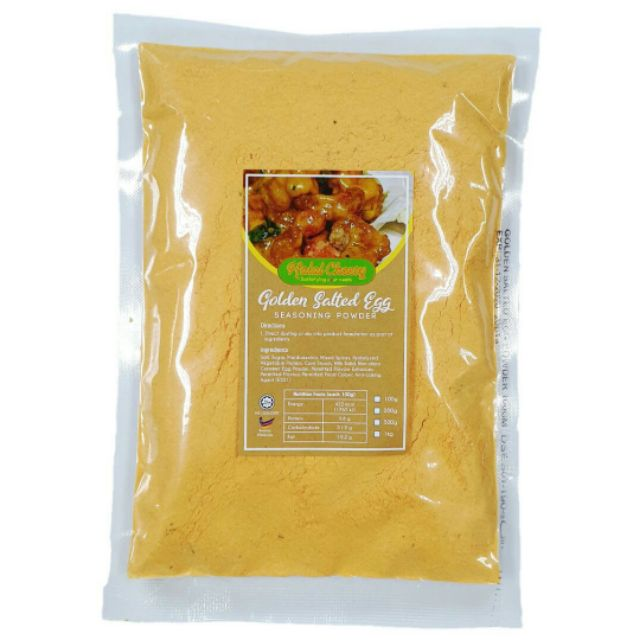 [C] HALAL SALTED EGG POWDER SERBUK TELUR MASIN