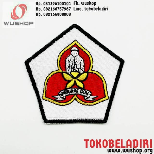 Embroidery Logo Shield Yourself Shopee Malaysia