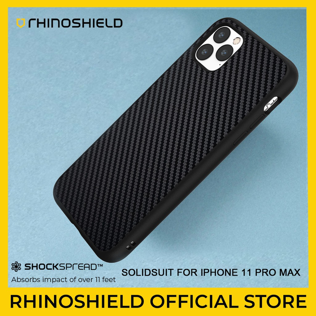 Rhinoshield Solidsuit Case For Apple Iphone 11 Pro Max Shopee Malaysia
