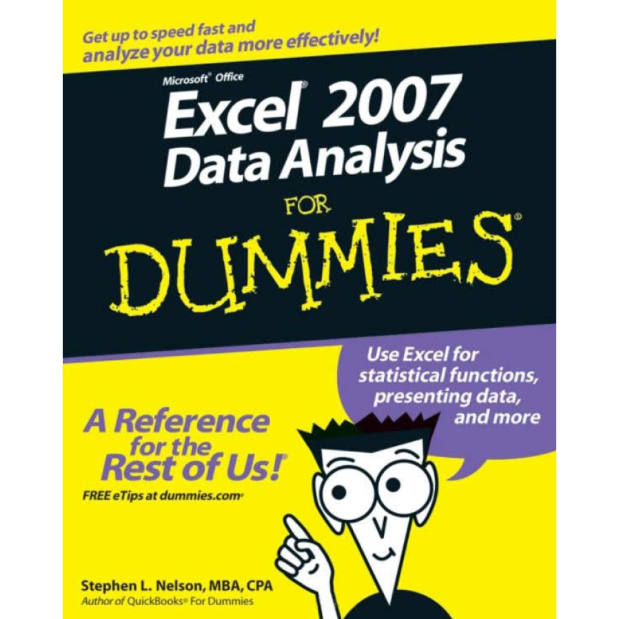 Microsoft Office Excel 2007 Data Analysis For Dummies - Stephen L  Nelson  pdf