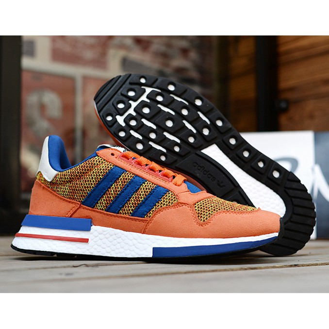 "f3af03a94 Adidas Dragon Ball ZX 500 RM""Son Goku""men's and women's breathable running  shoes"