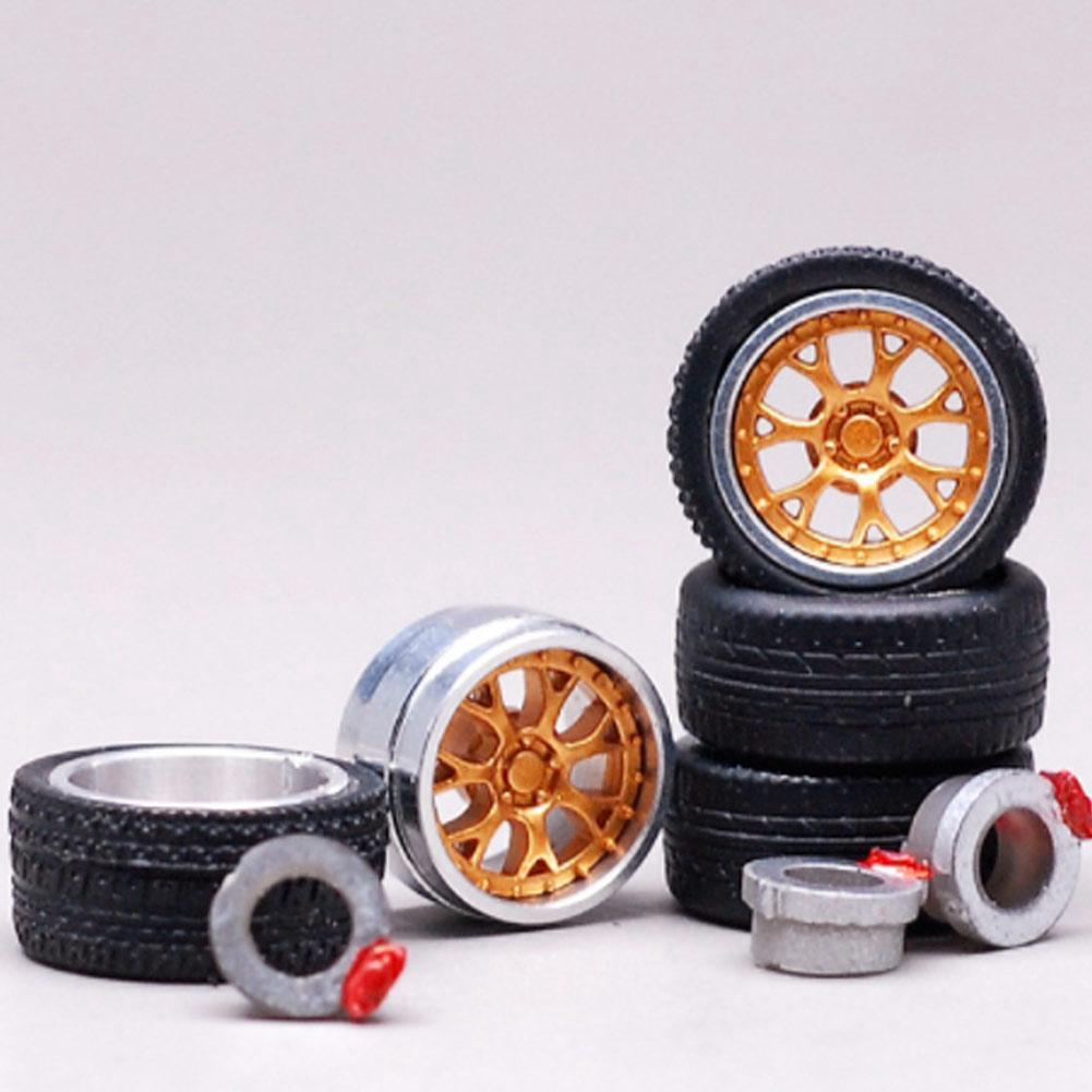1//64 rims Pirelli tires mix Hot Wheels Tomica diecast