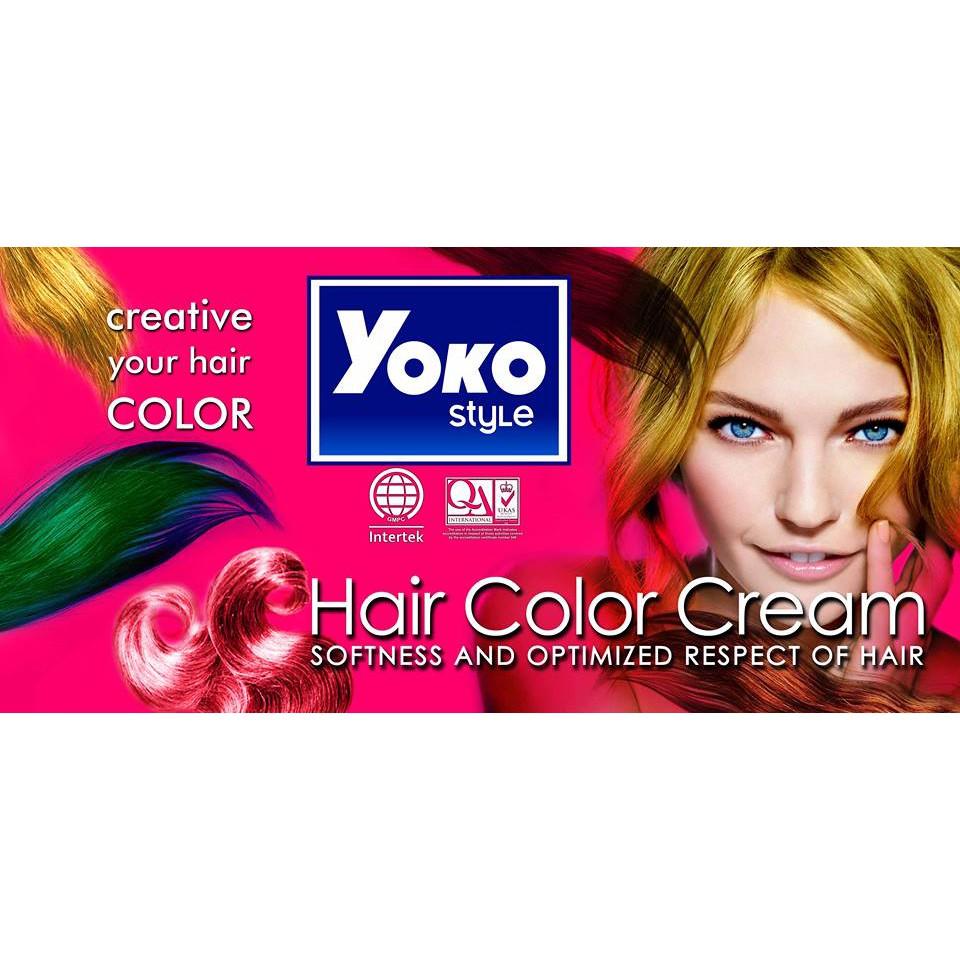 Yoko Style Hair Colour Cream 25ml X 2 50ml