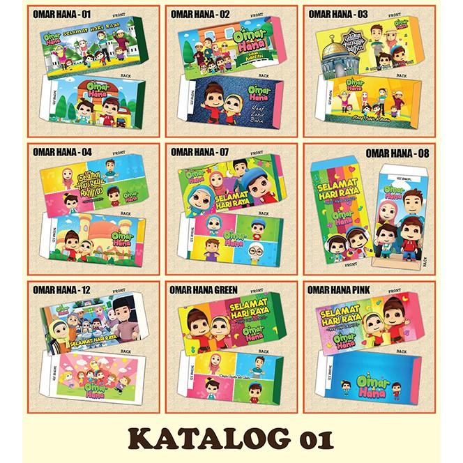 Pakej Set Sampul Raya Borong 100 Peket At Rm130 Kombinasi Katalog
