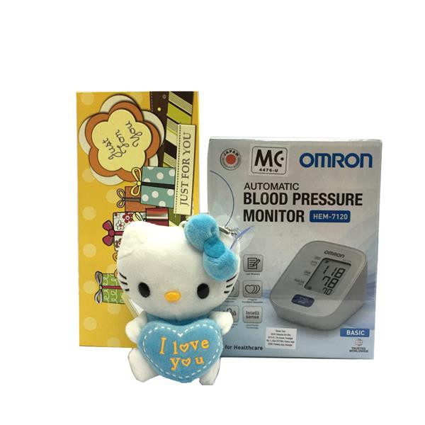 Gift Omron Blood Pressure Monitor HEM-7120 & Hello Kitty