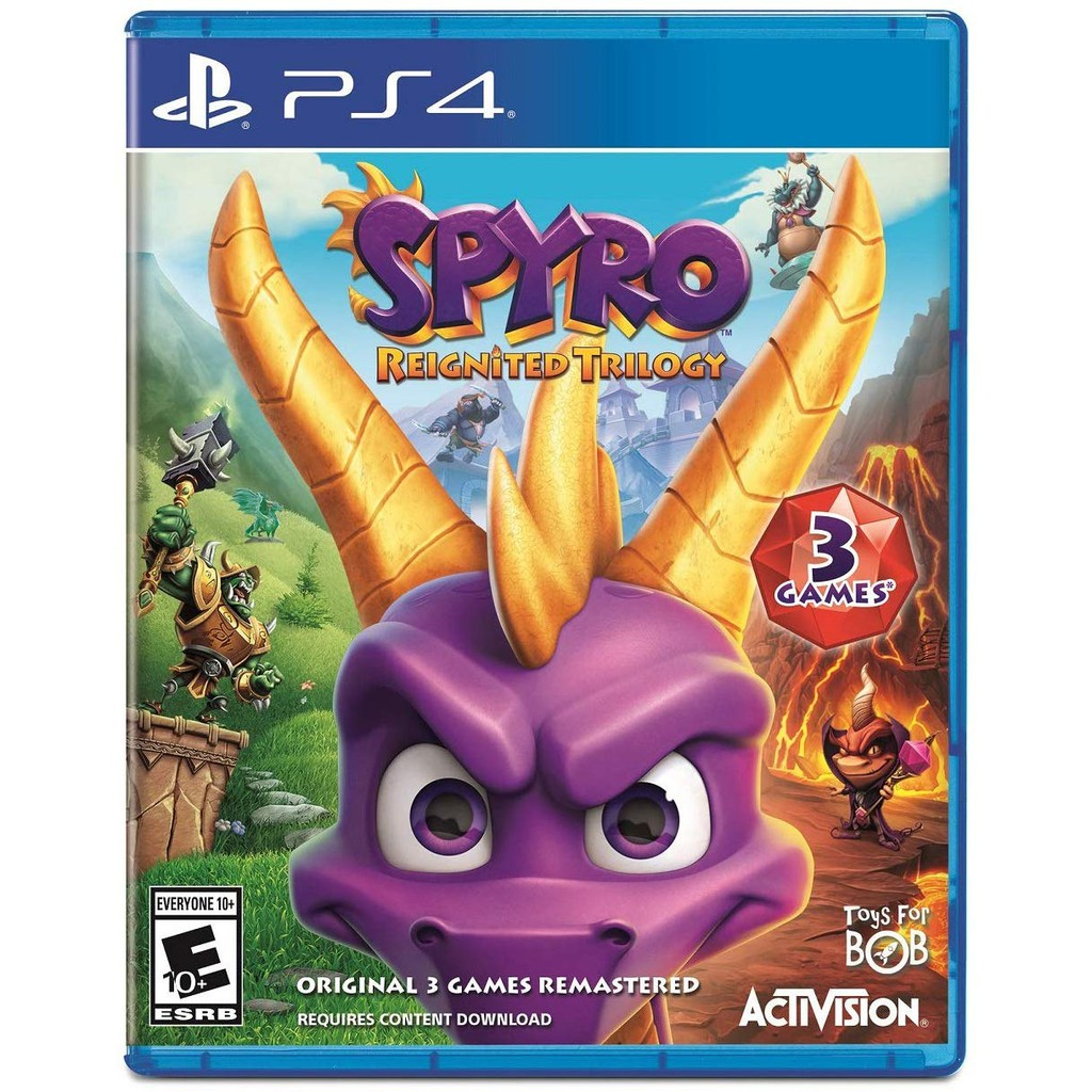 Spyro Reignited Trilogy (R3/ENG) - PlayStation 4